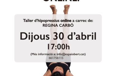 Taller d'hipopressius online(Dijous 30 d'abril)