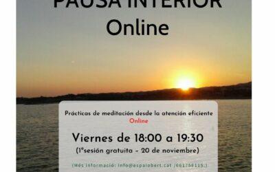 PAUSA INTERIOR- Online